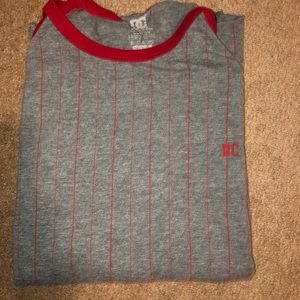 DC SHOES 3/4 SLEEVE JERSEY T SHIRT